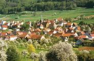 Lohndorf at spring