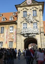 Immer wieder schön, das alte Bamberger Rathaus